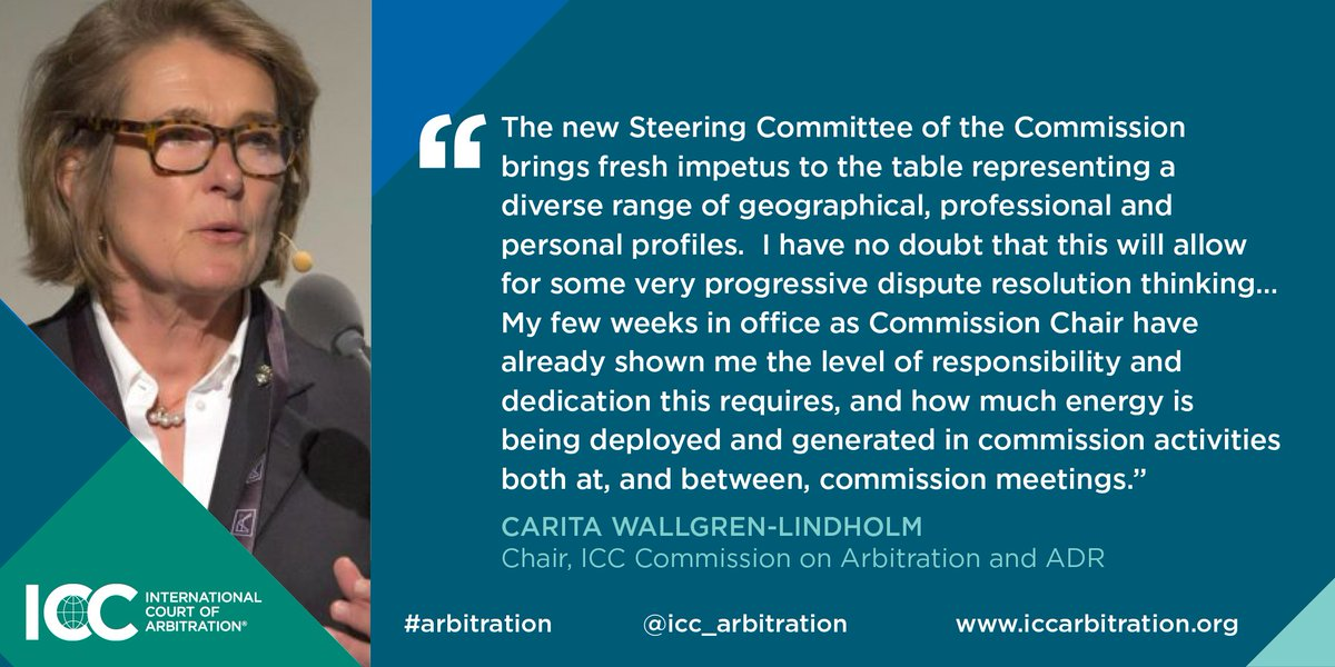 icc chair commission arbitration
